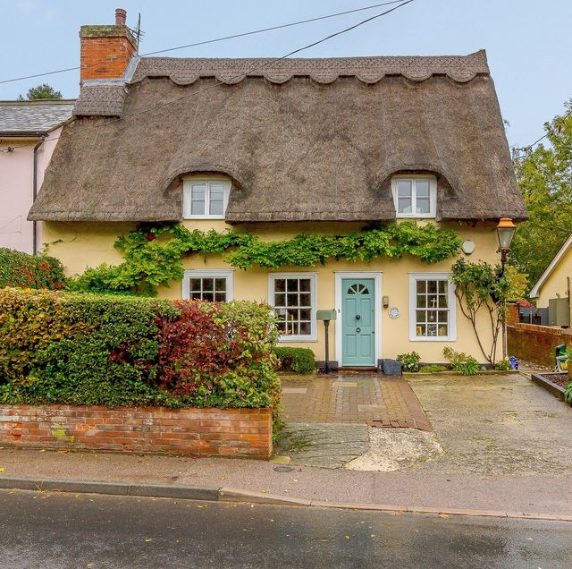 thatched cottage for sale in suffolk