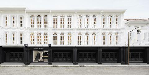 Monochromatic Design Hotel