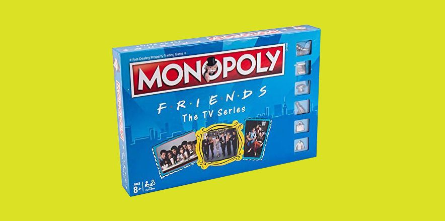"""You Can Invest in Central Perk in This """"Friends""""-Themed Monopoly Game"""