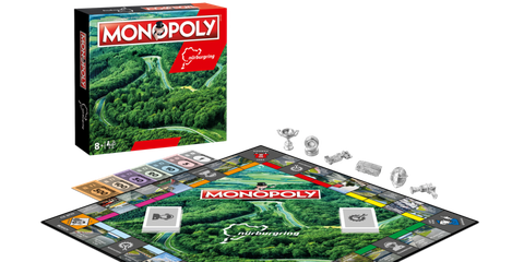 Nürburgring Monopoly Is Only One of the Great Car-Themed Board Games
