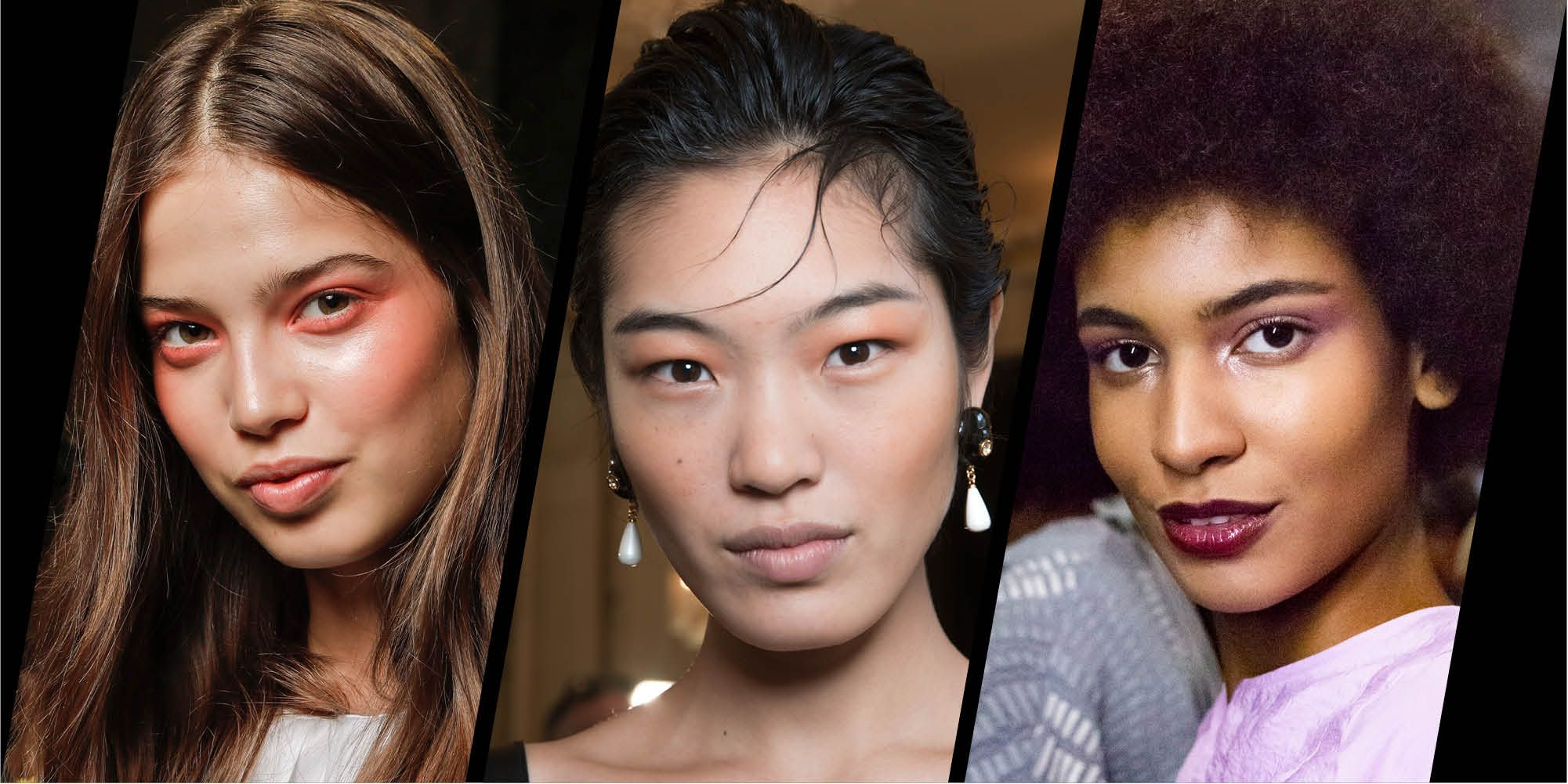 Monotone make-up trend spring/summer 2019