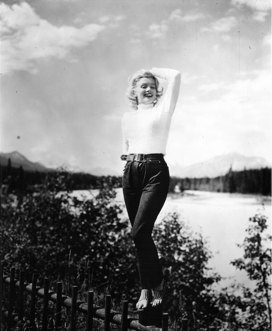 Tommy Hilfiger Is Auctioning Off A Pair Of Jeans Worn By Marilyn