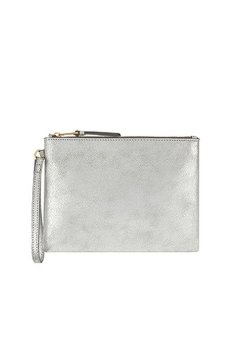 Monsoon silver bag