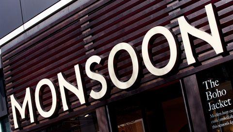 Monsoon shop sign