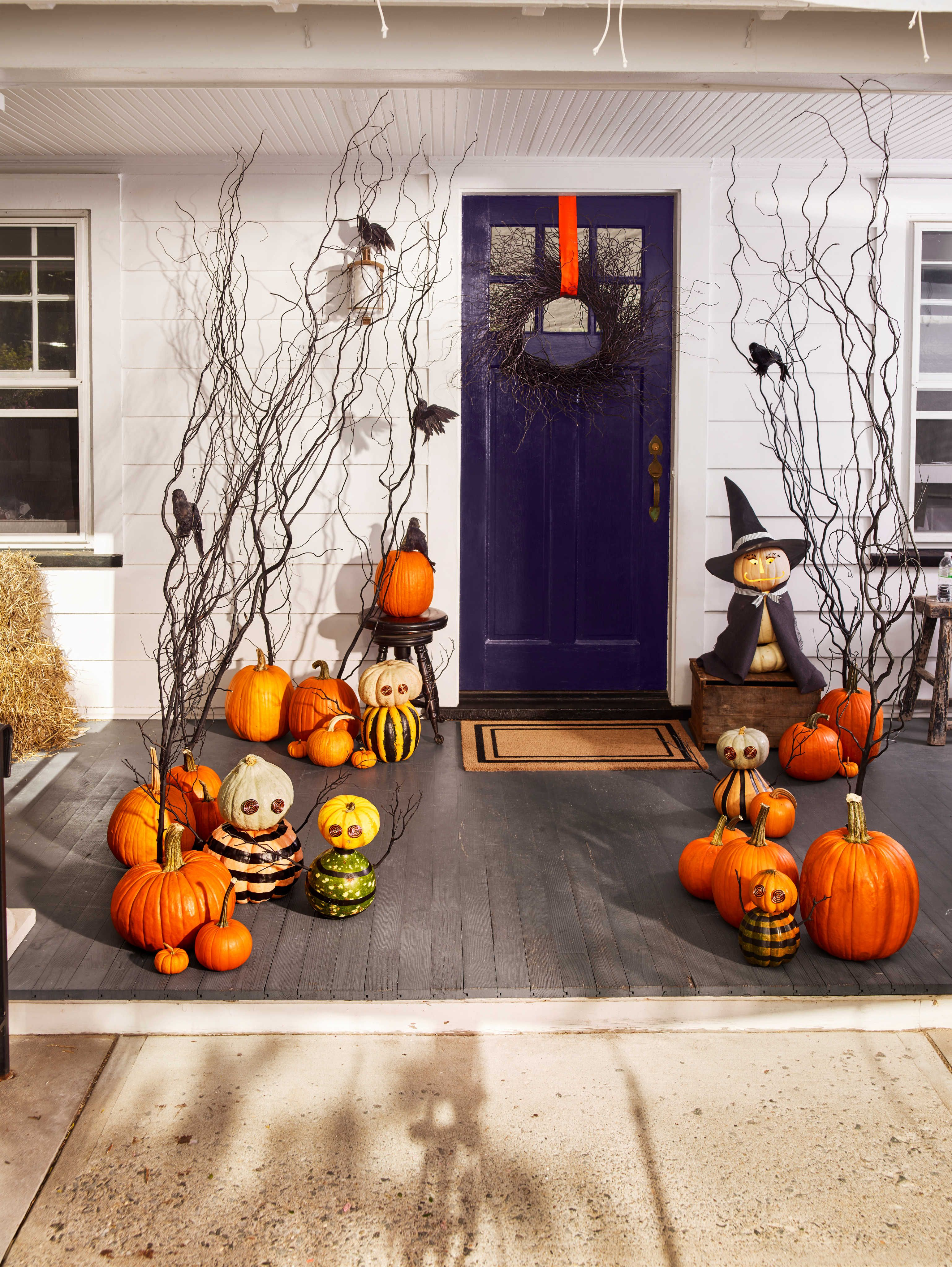 47 Halloween Pumpkin Painting Ideas No Carve Pumpkin Decorating