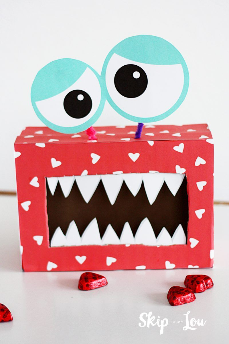 Monster - Valentine Boxes