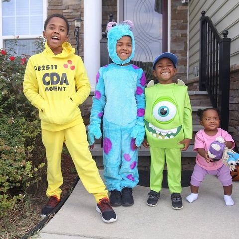 monsters inc sibling costume