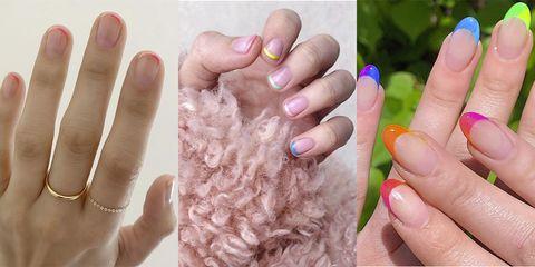 Nail, Finger, Hand, Skin, Nail care, Manicure, Nail polish, Gesture, Thumb, Cosmetics,