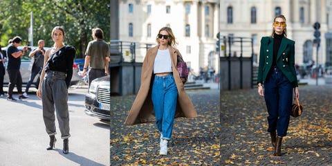 Clothing, Street fashion, Jeans, Fashion, Denim, Cobalt blue, Electric blue, Footwear, Jacket, Outerwear,