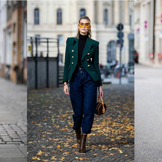 Street fashion, Clothing, Fashion, Jeans, Denim, Suit, Footwear, Outerwear, Jacket, Blazer,