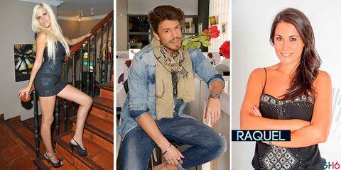 Ylenia, Fede y Raquel, fotos de su pasado