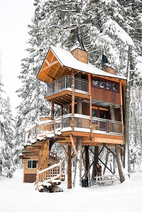 Montana Treehouse Retreat