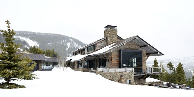 Rustic montana house tour rustic ski chalet - Chalet rustique montana pearson design group ...