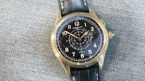 Review: the Montblanc 1858 Split-Seconds Monopusher Chronograph