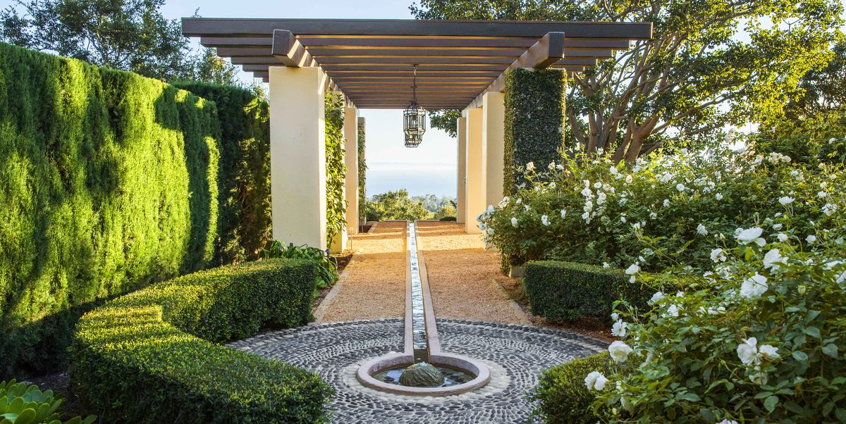 Explore This Montecito Garden By Hoerr Schaudt Landscape Architects