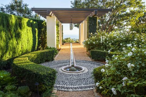 montecito garden fountainhoerr schaudt