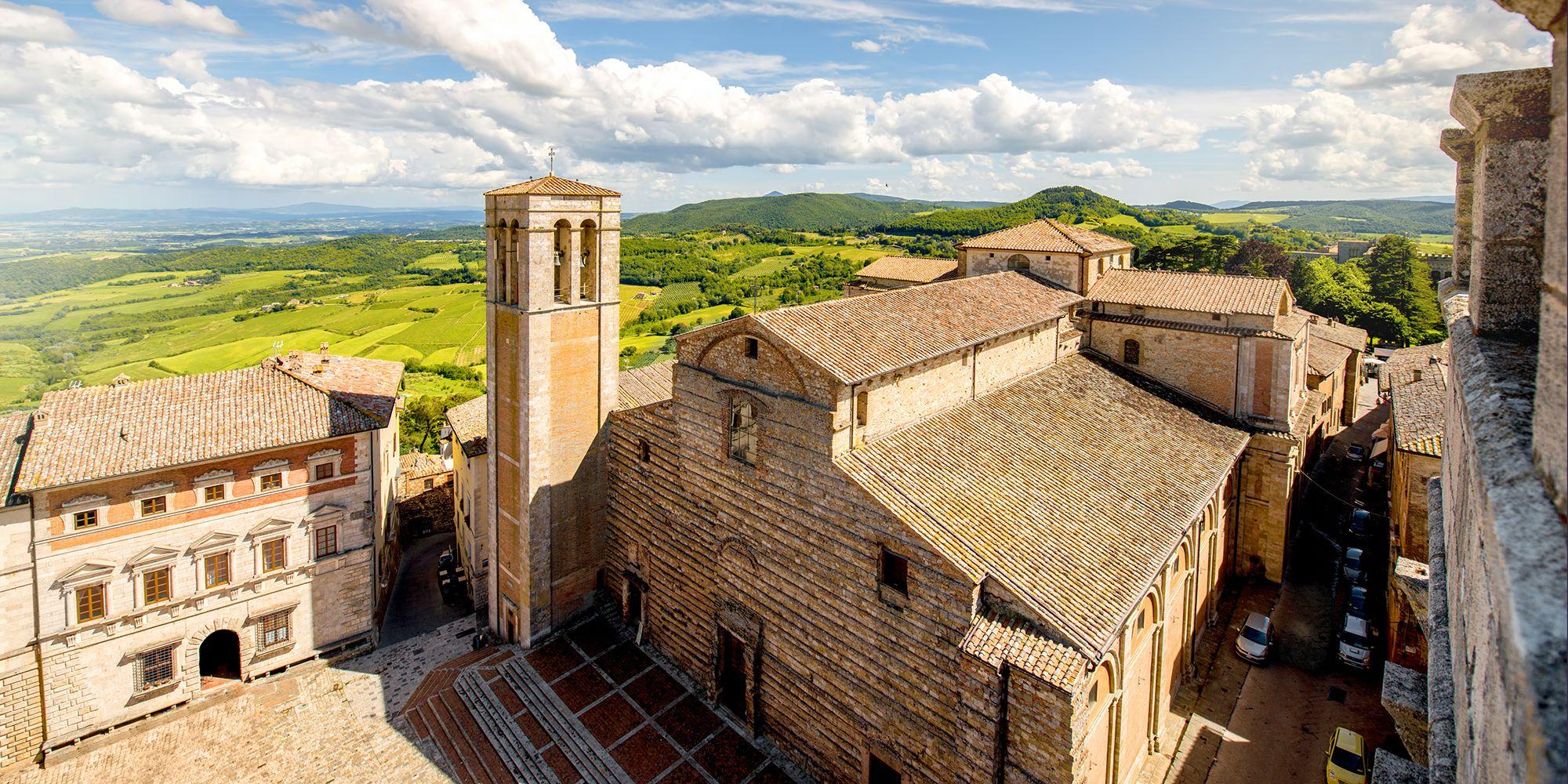 Montepulciano -Tuscany, Italy wine region