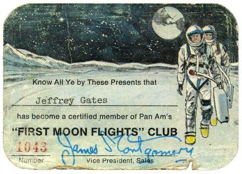 biglietto per la Luna