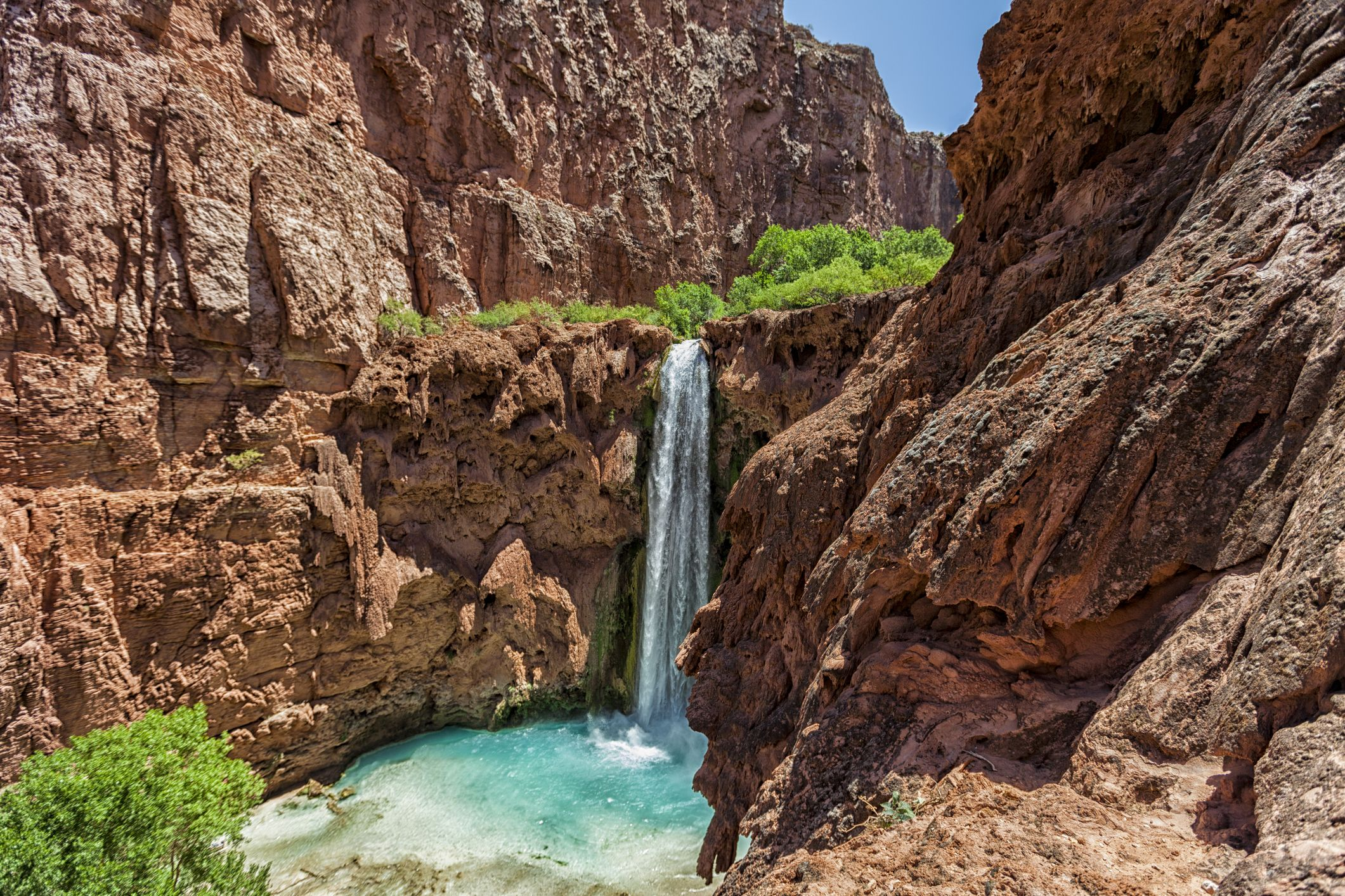 Mooney Falls, Havasupai, Grand Canyon, Arizona