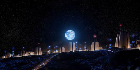Night, Sky, Light, Landmark, Lighting, Darkness, Architecture, Midnight, Atmosphere, Metropolitan area,