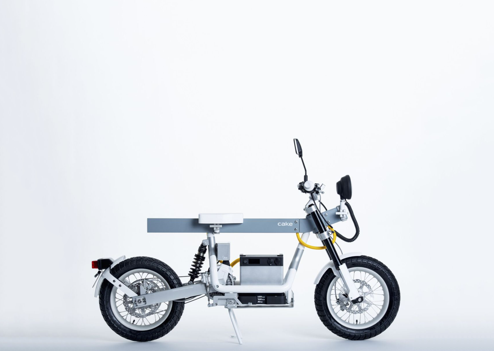 This Swedish Electric Moped Is Also a Mobile Generator