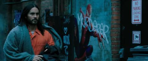 Resultado de imagen de morbius trailer spiderman