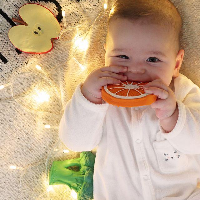 Mordedores ecológicos para bebés