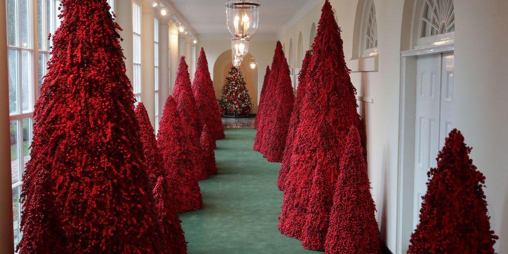 Melania Trump Unveiled This Year S White House Christmas
