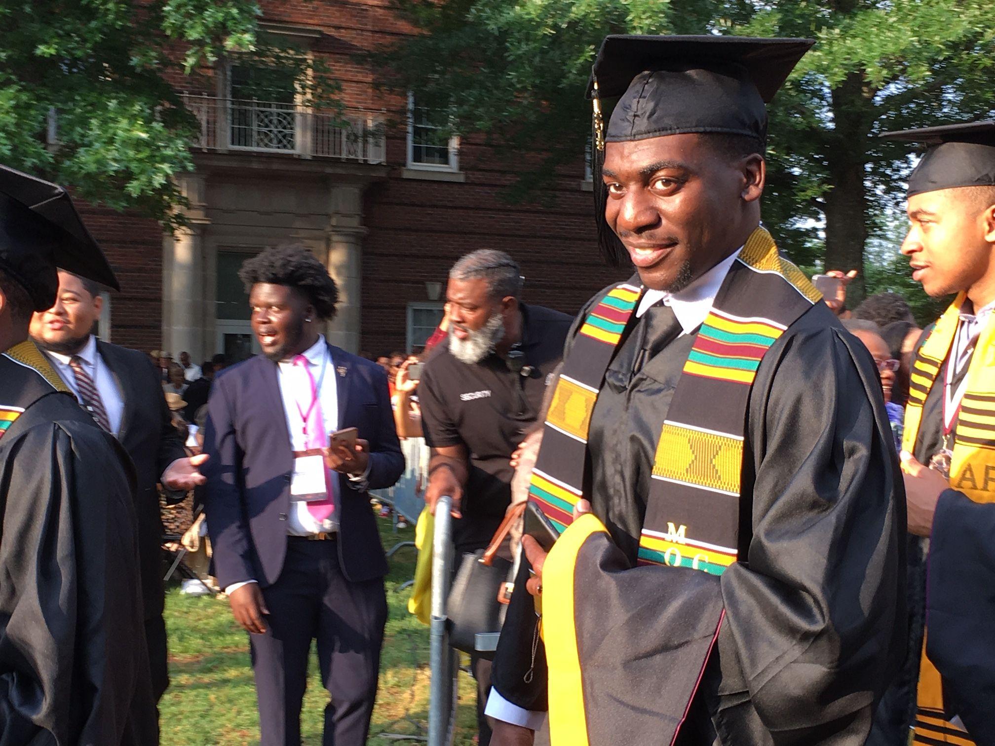 Morehouse Grad De'Jaun Davis-Correia Opens Up About Having His Student Loans Paid Off