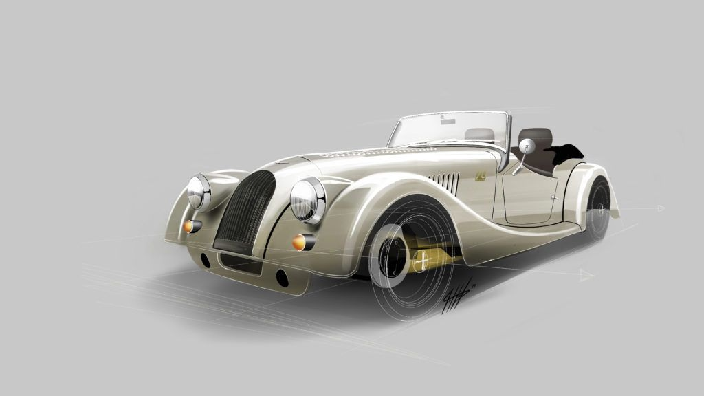Morgan Is Sending Off Its Plus 4 Roadster With This Pretty Anniversary Edition