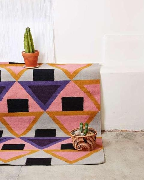 aelfie morgan flat weave rug