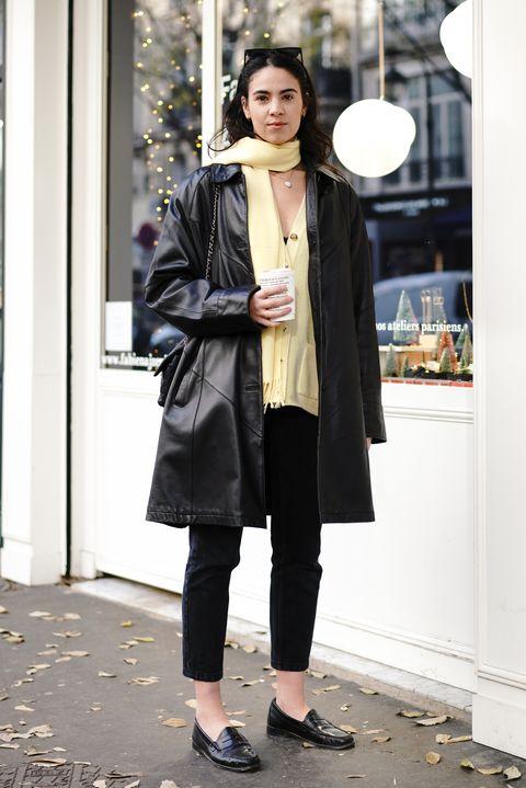 Clothing, Street fashion, Photograph, Black, Coat, Outerwear, Snapshot, Fashion, Trench coat, Overcoat,