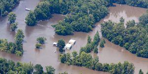 USA - Flooding - Mississippi River