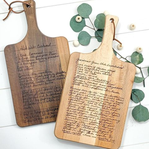 morning joy co recipe cutting board