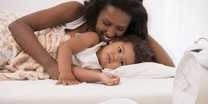 Moeder is de beste wekker