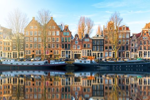 valentine's day short breaks under £200: Amsterdam