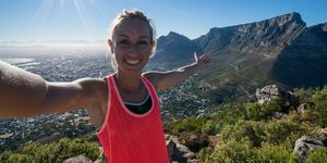 Morning selfie, Cape Town, South Africa