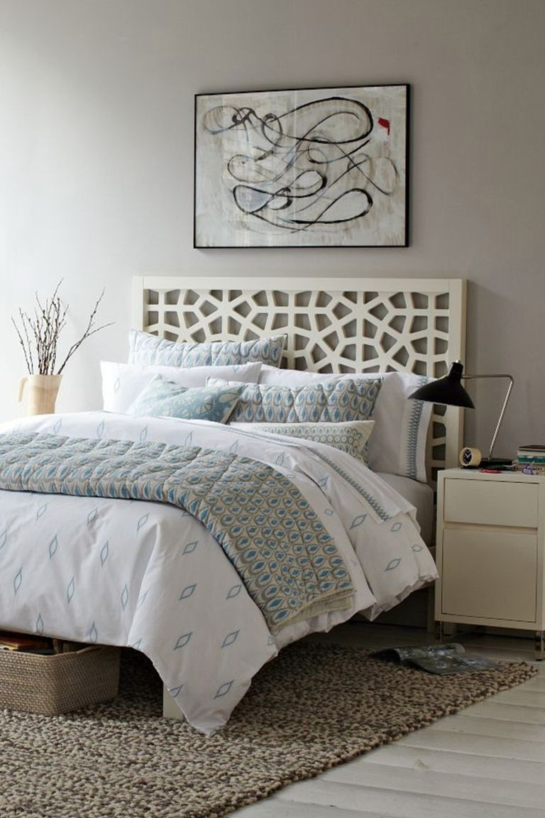20 best headboard ideas unique designs for bed headboards - Headboard or no headboard ...