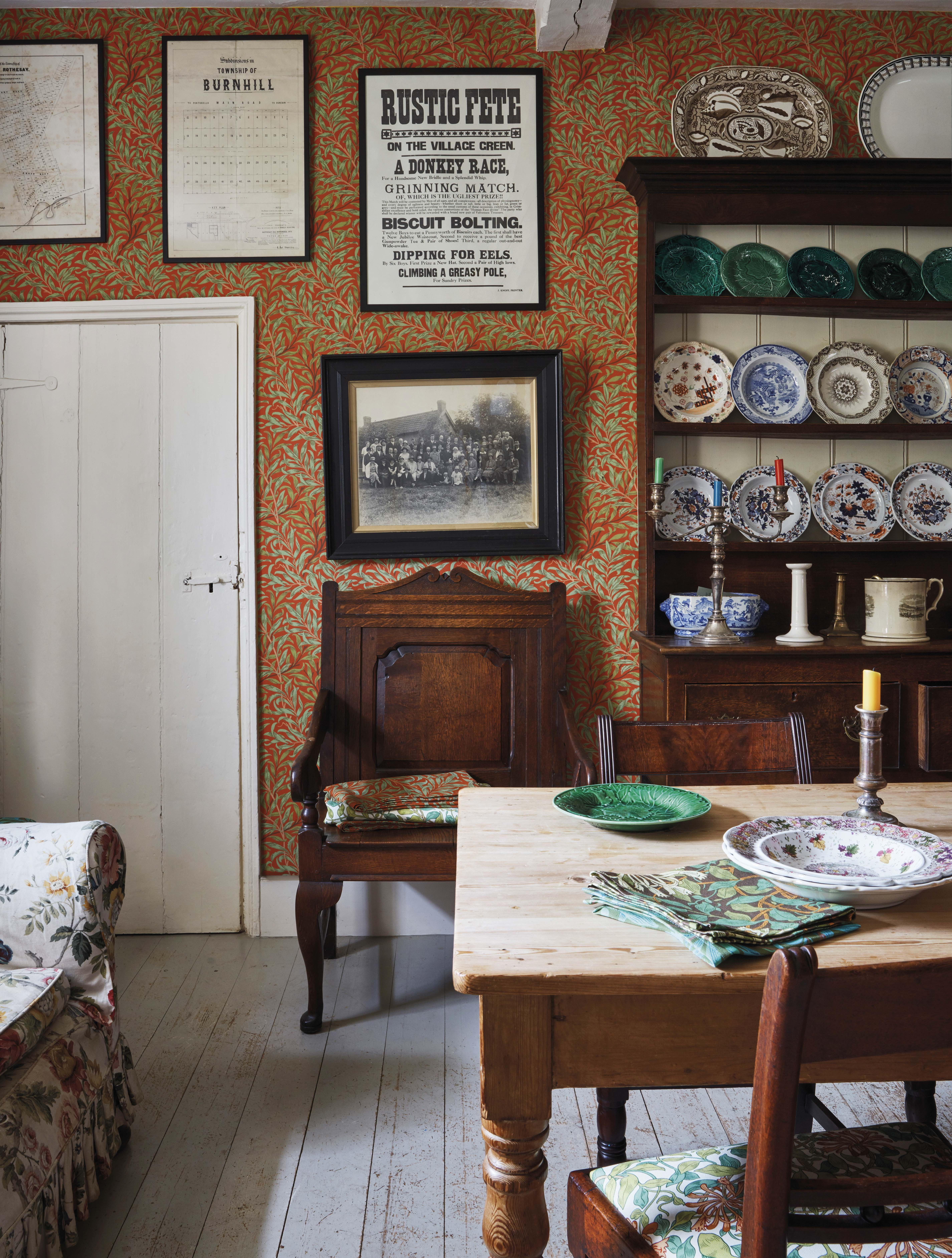 This Decked-Out Dorset Home Is Covered in Floor-to-Ceiling Morris & Co. Patterns