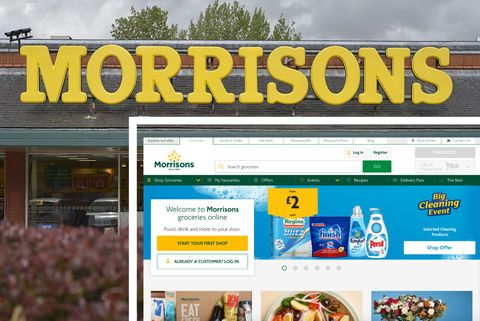 Morrisons - store and online shop