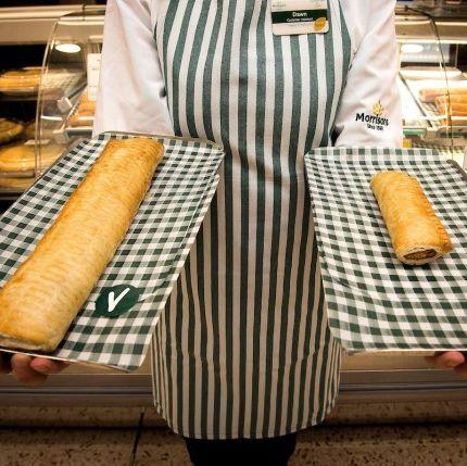 Morrisons vegan sausage roll