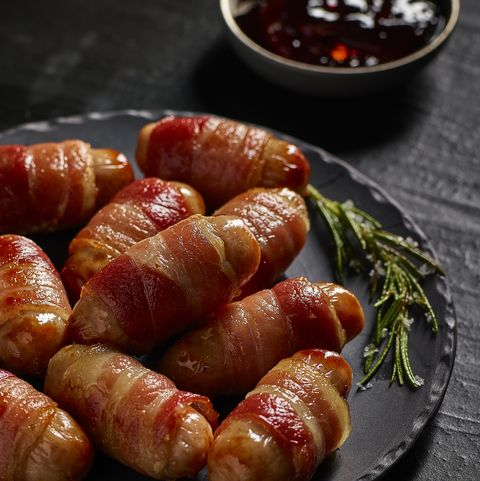Morrisons' Cheesy Pigs in Blankets