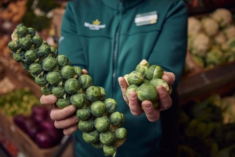 Morrisons wonky sprouts photo
