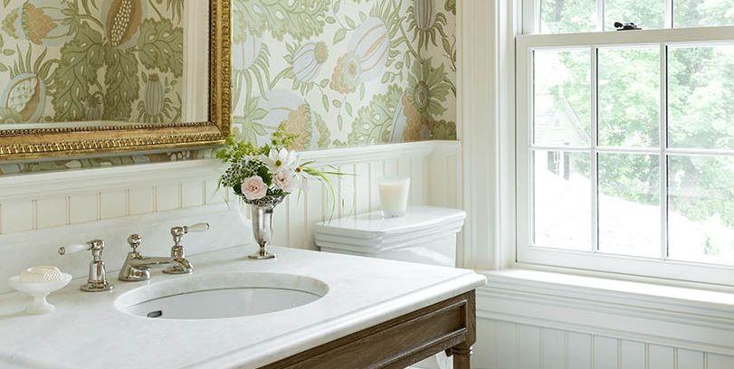 40 Stunning Powder Room Ideas