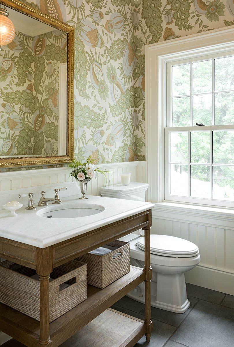 40 Powder Rooms That Make A Bold Statement