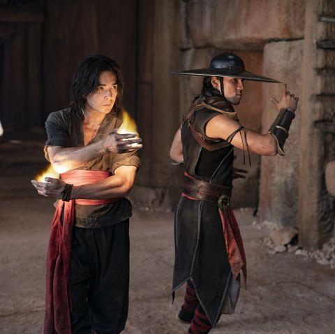 mortal kombat ludi lin as liu kang and max huang as kung lao