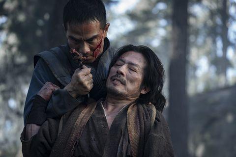mortal kombat joe taslim as sub zerobi han and hiroyuki sanada as scorpionhanzo hasashi
