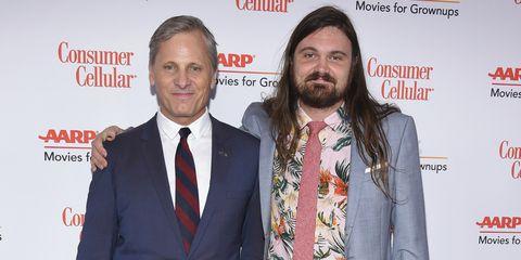 Malditos genes, o no: Viggo Mortensen y su hijo Henry