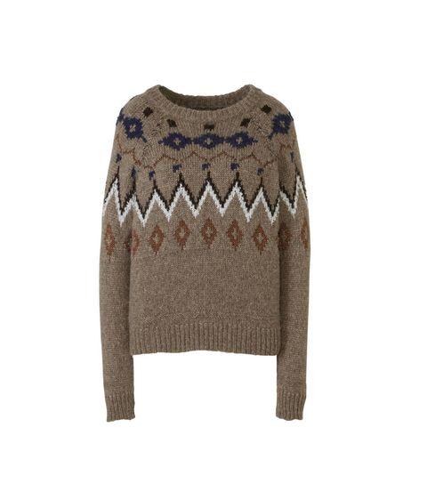 Mos Mosh trui in taupe kleur