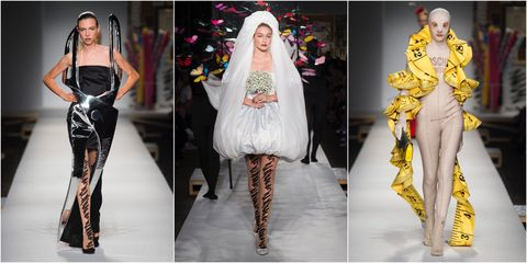 51397878 Panic On The Catwalk As Jeremy Scott 'Fails' To Finish His SS19 Moschino  Collection In Time